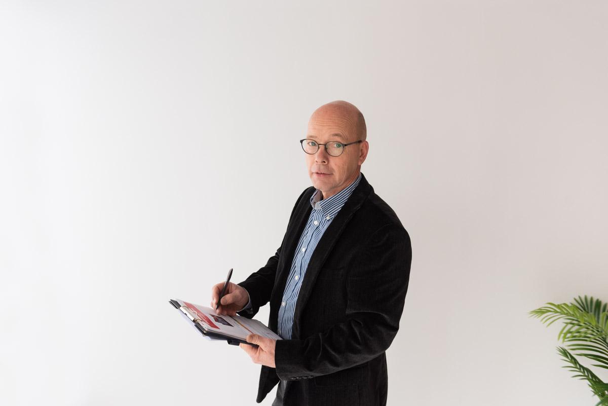 Vastgoed expert Marc Van Ruyssevelt